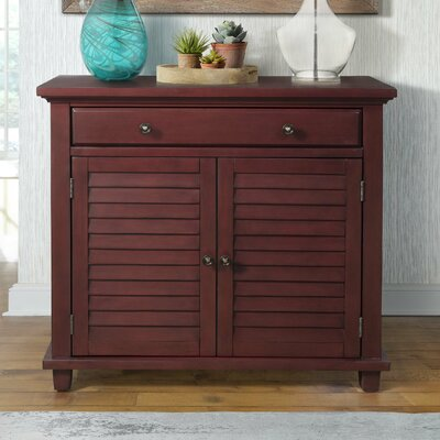 Charlise 1 Drawer Accent Chest Color: Antique Red