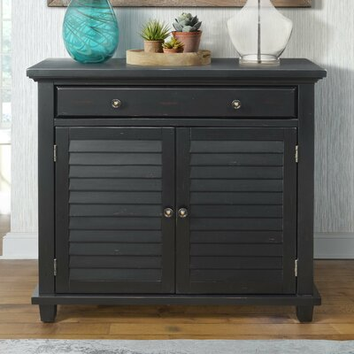 Charlise 1 Drawer Accent Chest Color: Antique Black