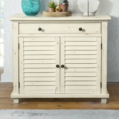 Charlise 1 Drawer Accent Chest Color: Antique Bisque