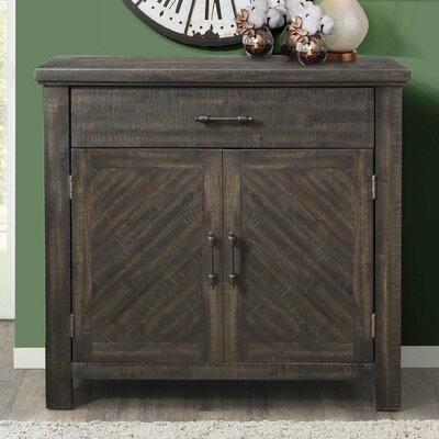 Lesure 2 Door Accent Cabinet Color: Gray
