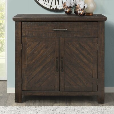 Lesure 2 Door Accent Cabinet Color: Walnut