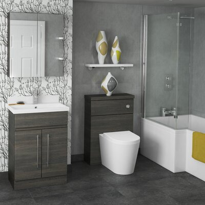 BeModern Bathrooms 40cm x 120cm Wall Mounted Cabinet