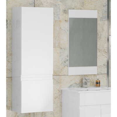 BeModern Bathrooms Ottawa 40 x 120cm Wall Mounted Cabinet