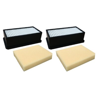 4 Piece Bissell CleanView Pre & Post Motor Filter Set