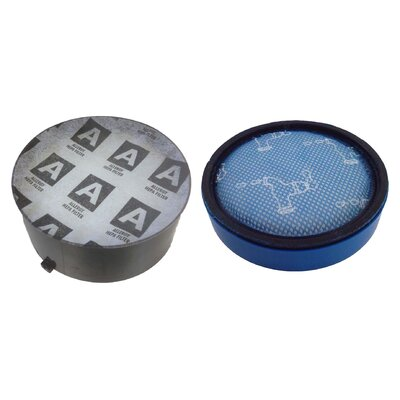 2 Piece Pre and HEPA Post Motor Filter Set