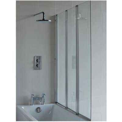 Britton Bathrooms 145 cm x 118 cm Bath Screen