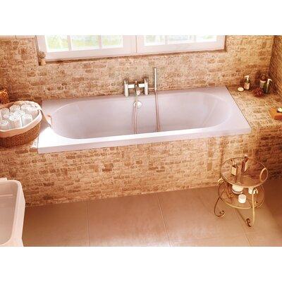 Britton Bathrooms Verde 170cm x 70cm Recessed Soaking Bathtub