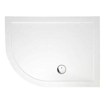 Britton Bathrooms 120 cm x 90 cm Offset Version Shower Tray