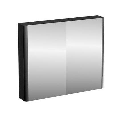 Britton Bathrooms 2 Door Compact Mirror Wall Hung Cabinet