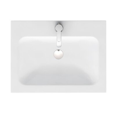 Britton Bathrooms Quattrocast 60cm Recessed Basin
