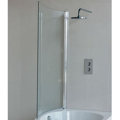 Britton Bathrooms Eco 145cm x 82cm Pivot Bath Screen
