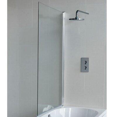 Britton Bathrooms Eco 145cm x 85cm Pivot Bath Screen