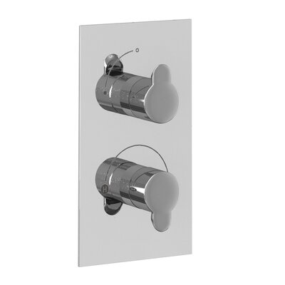 Britton Bathrooms Twin Concealed Shower Valve