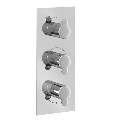 Britton Bathrooms Triple Concealed Shower Valve