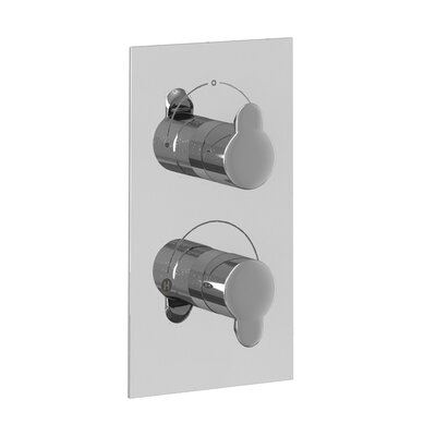 Britton Bathrooms Twin Concealed Shower Valve with Diverter