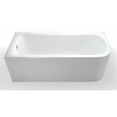 Britton Bathrooms Viride 170cm x 75cm Standard Soaking Bathtub
