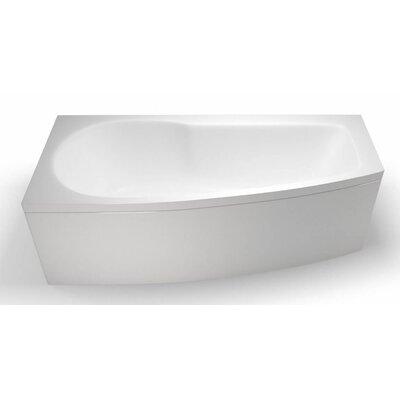 Britton Bathrooms Eco 170cm x 75cm Shower Bath Soaking Bathtub