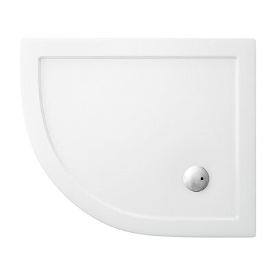 Britton Bathrooms Anti-Bacterial Offset Shower Tray