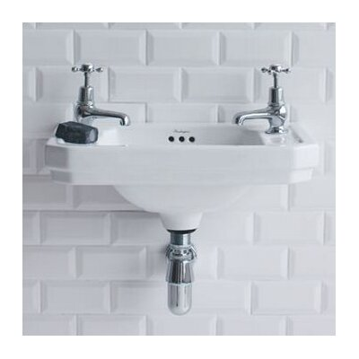 Burlington Victorian 51 cm Wall Mount Sink