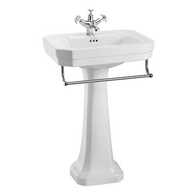 Burlington Victorian 56cm Full Pedestal Basin