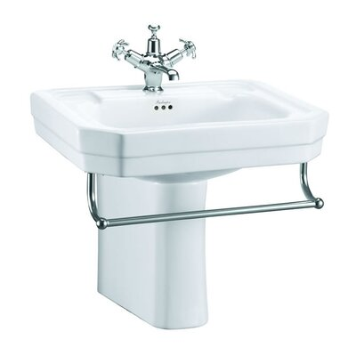 Burlington Victorian 56cm Semi Pedestal Basin