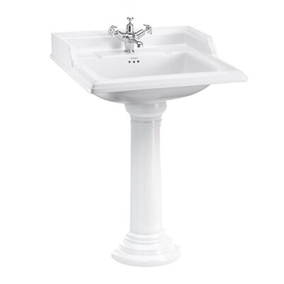 Burlington 65cm Full Pedestal Basin