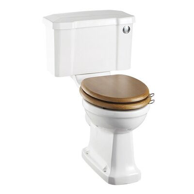 Burlington Regal Close Coupled Toilet with Seat