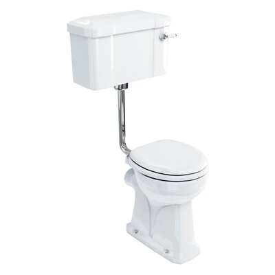 Burlington Regal Low & High Level Toilet with Seat