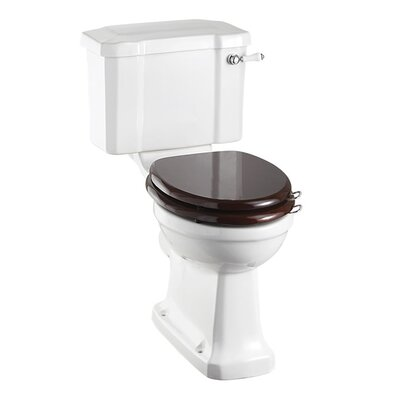 Burlington Regal Close Coupled Toilet with Seat