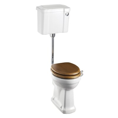 Burlington Close Coupled Toilet with Seat