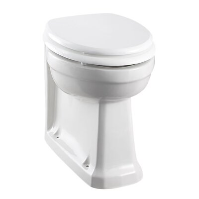 Burlington Back to Wall Toilet with Seat