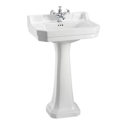 Burlington Edwardian 56cm Full Pedestal Basin