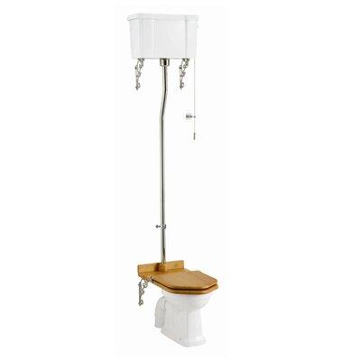 Burlington High Level Toilet with Seat