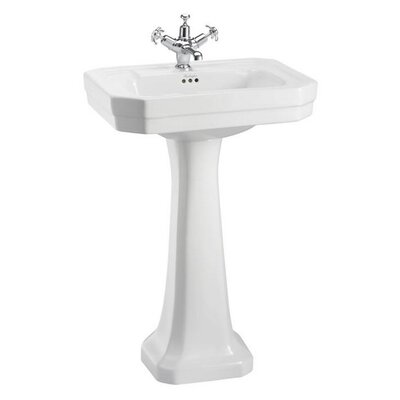 Burlington Victorian 56cm Full Pedestal Basin