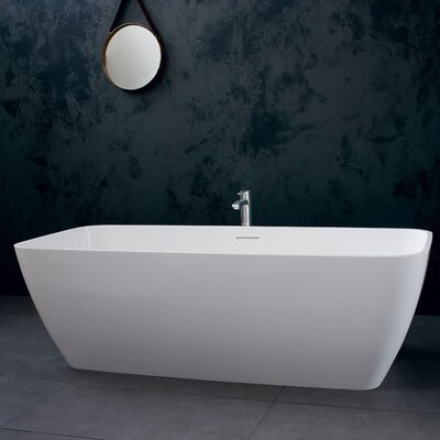 Clearwater Vicenza 179cm x 75cm Freestanding Soaking Bathtub