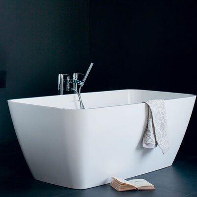 Clearwater Vicenza 160cm x 75cm Freestanding Soaking Bathtub