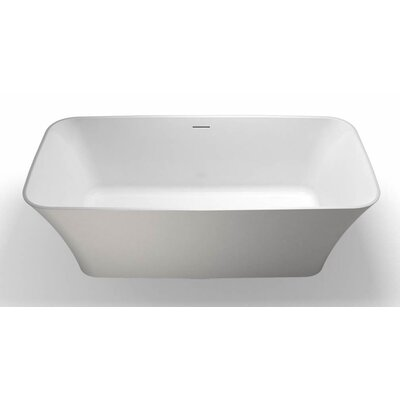 Clearwater Palermo 160cm x 75cm Freestanding Soaking Bathtub
