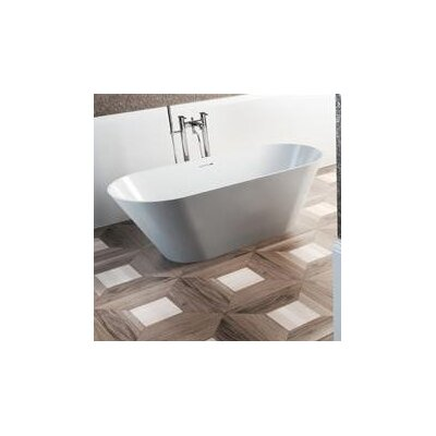 Clearwater Sontuoso 169cm x 70cm Freestanding Soaking Bathtub