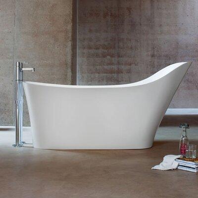 Clearwater Nebbia 160cm x 80cm Freestanding Soaking Bathtub
