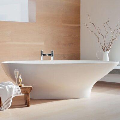 Clearwater Teardrop 191cm x 81.5cm Freestanding Soaking Bathtub