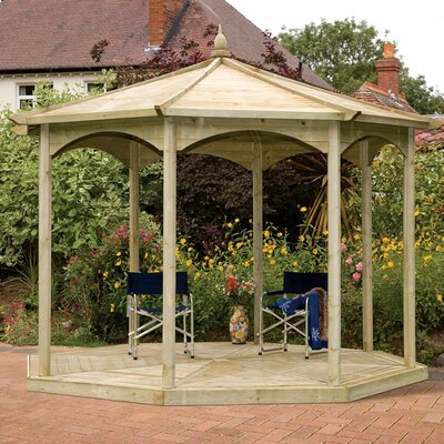 Grange Fencing Regis Gazebo with no sides
