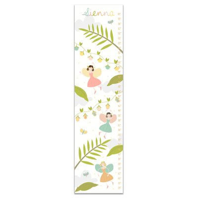 Herold Woodland Fairies Personalized Growth Chart