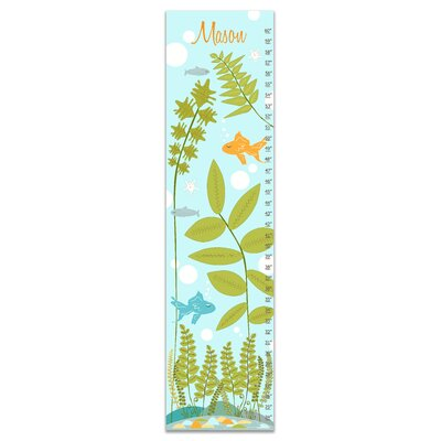 Herring Nautical Under the Sea Personalized Growth Chart