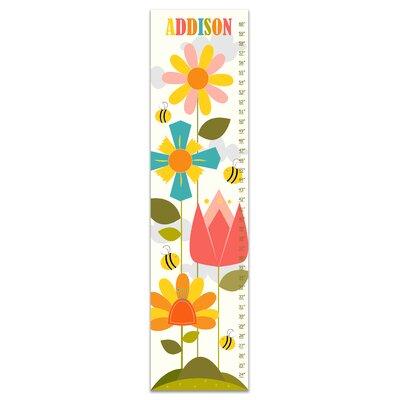 Hersom Flower Garden Personalized Growth Chart