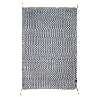 Classic Collection Hand-Woven Navy Blazer Area Rug