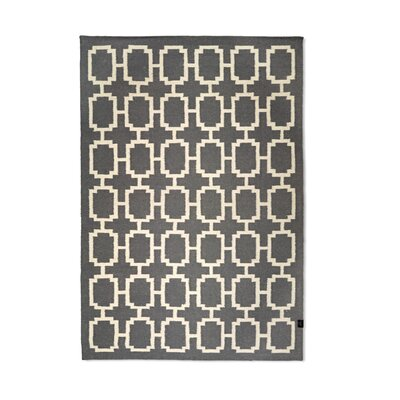 Classic Collection Hand-Woven Titanium Area Rug