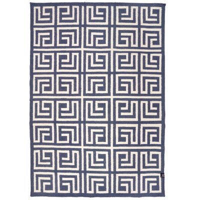 Classic Collection Handmade Grey/Blue Area Rug