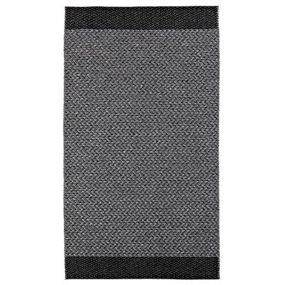 Floow Flake Coal Grey / Black Area Rug