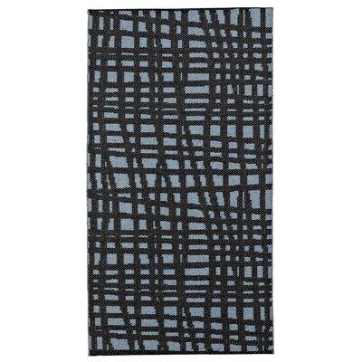 Floow Penn Stream Black / Blue Area Rug
