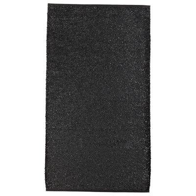 Floow Floss Coal Black Area Rug